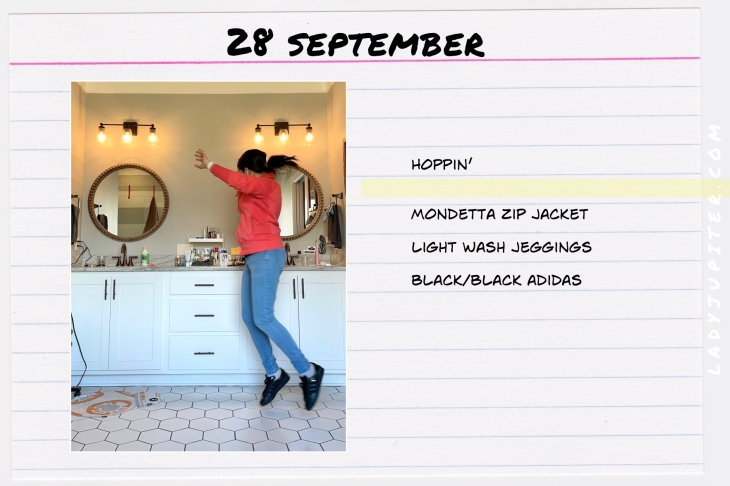 Outfits of the Day, Q4! Here's what I wore this quarter. I'm a hobby-blogger with a toddler, here's what I like to wear. #OOTD #MomOutfits #MomStyle #September #Mondetta
